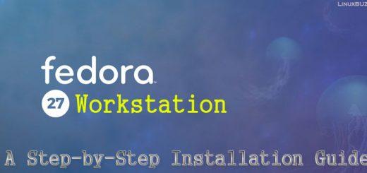 Fedora27-Installation-Steps