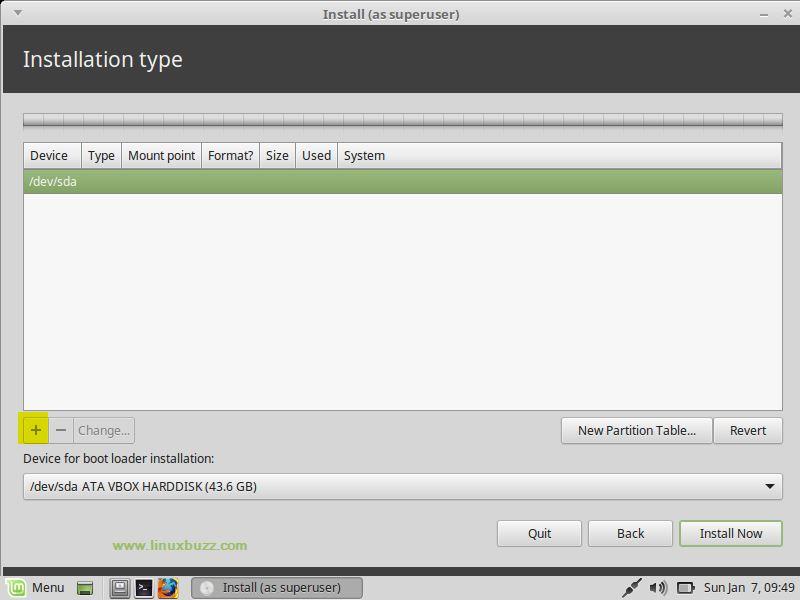 LinuxMint18-3-Installation-Disk