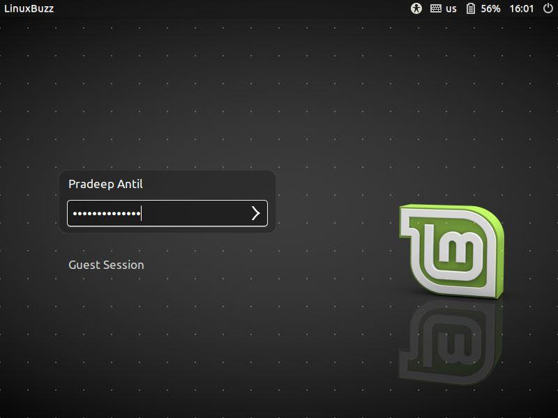 Login-screen-LinuxMint18-3