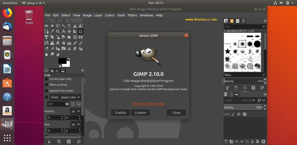 GIMP2-10-Ubuntu18-04