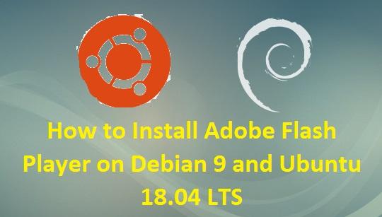 Install-Adobe-Flash-Player-Debian9-Ubuntu18