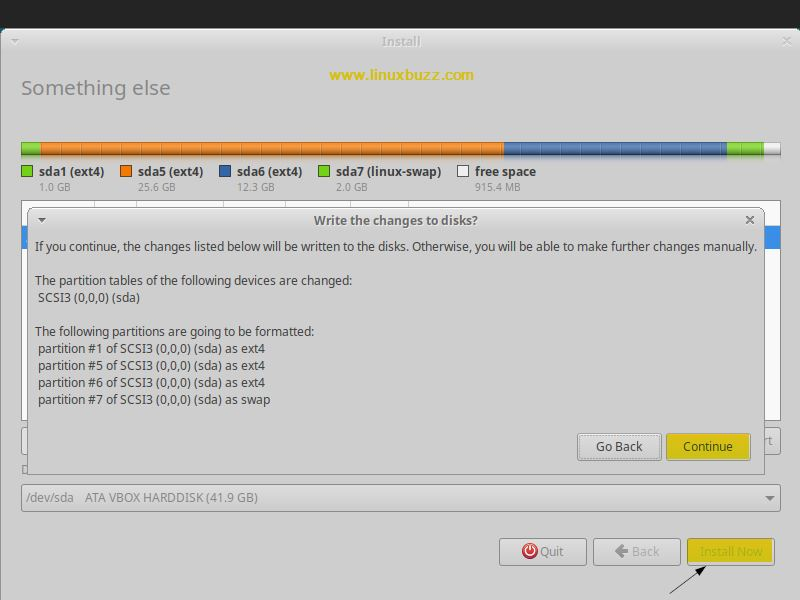 Install-now-Write-changes-Xubuntu18-04