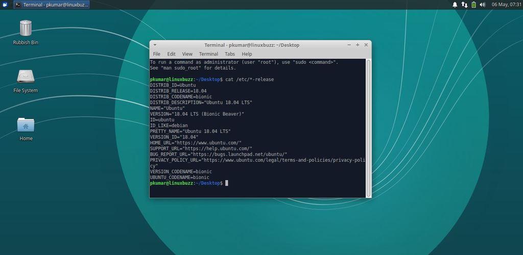 Xubuntu18-04-Desktop-Screen