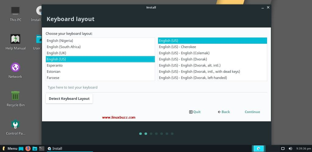 Choose-keyboard-layout-Linux-Lite-4