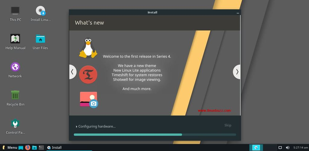 Linux-Lite4-Installation-Progress