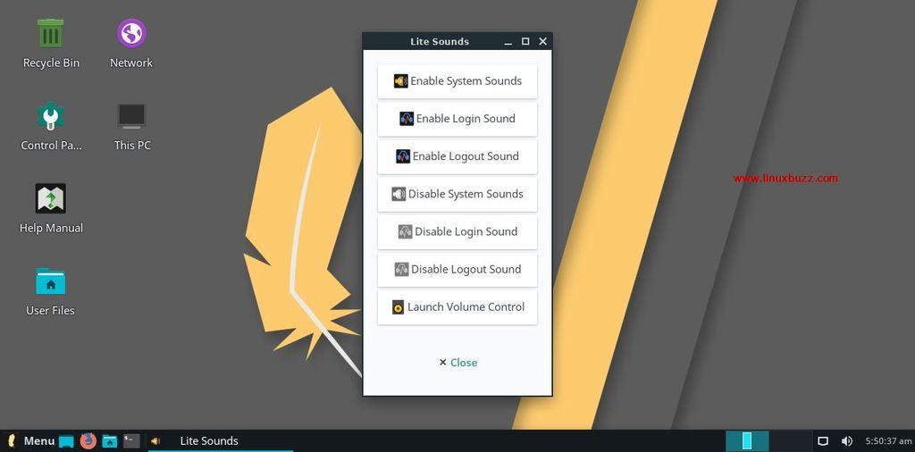 Lite-Sounds-LinuxLite4-OS