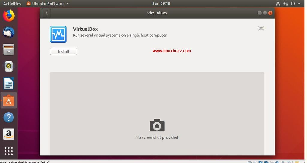 Search-VirtualBox-Ubuntu18-04