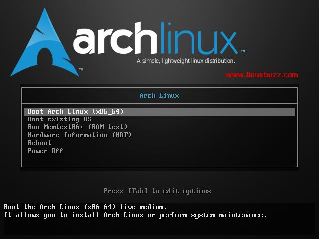 Choose-Boot-Arch-Linux
