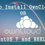 OwnClous10-CentOS7-RHEL7
