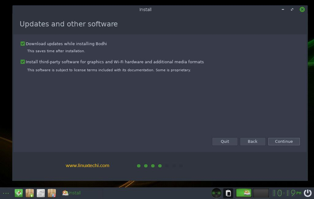 Install-Updates-Software-Bodhi-Linux-Installation