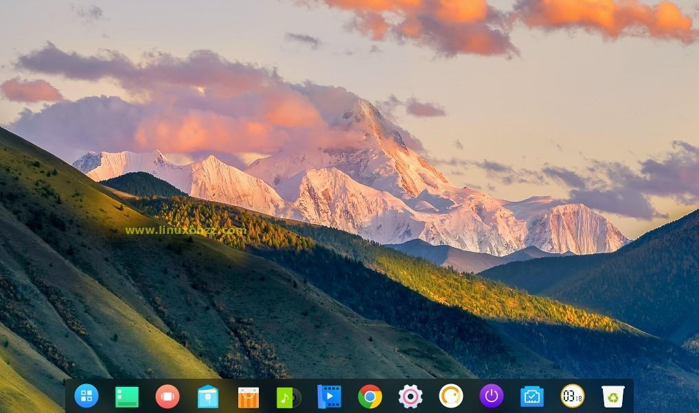 Desktop-screen-after-Login-deepin-15-7