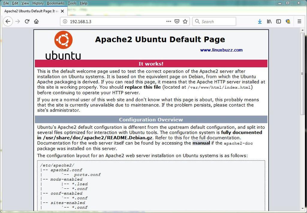 Apache2-Ubuntu18-04-Default-Page
