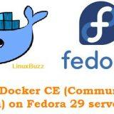 Install-Docker-Fedora29
