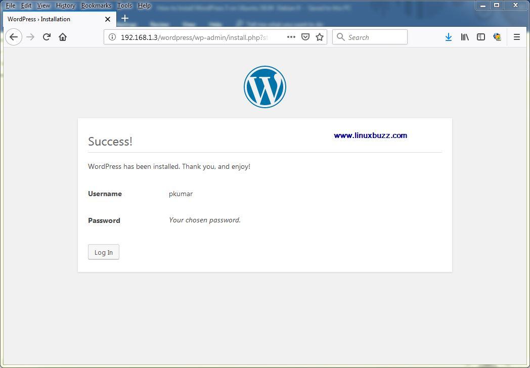 How to Install WordPress 5 0 on Ubuntu 18 04 LTS / Ubuntu 18 10