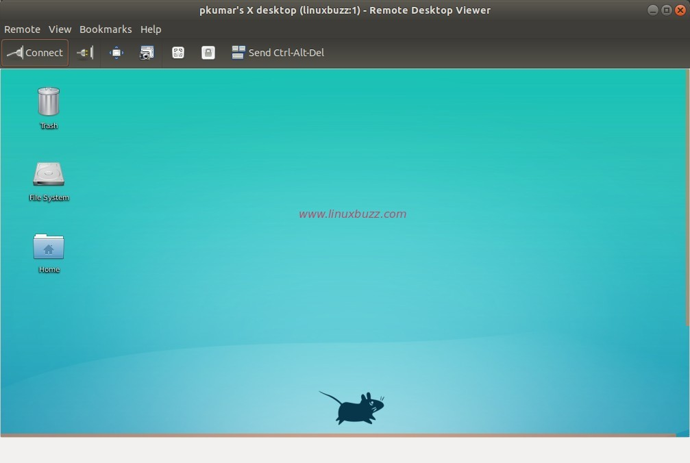 Remote-desktop-vnc-session-ubuntu18