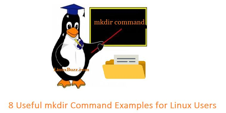 Linux-mkdir-command-examples