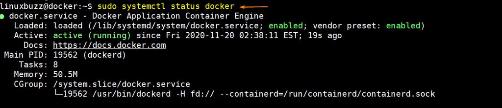 docker-service-status-debian10