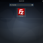 Search-Filezilla-desktop-dash-debian10