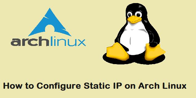 Static-IP-Arch-Linux