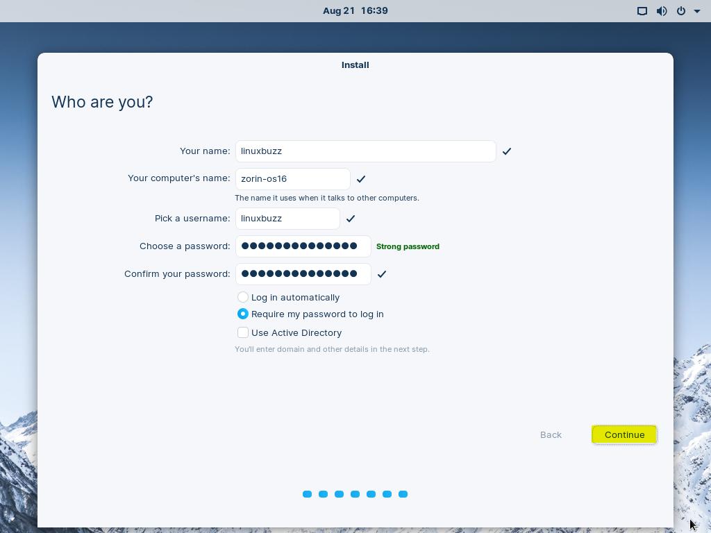 Create-User-During-Zorin-OS16-Installation