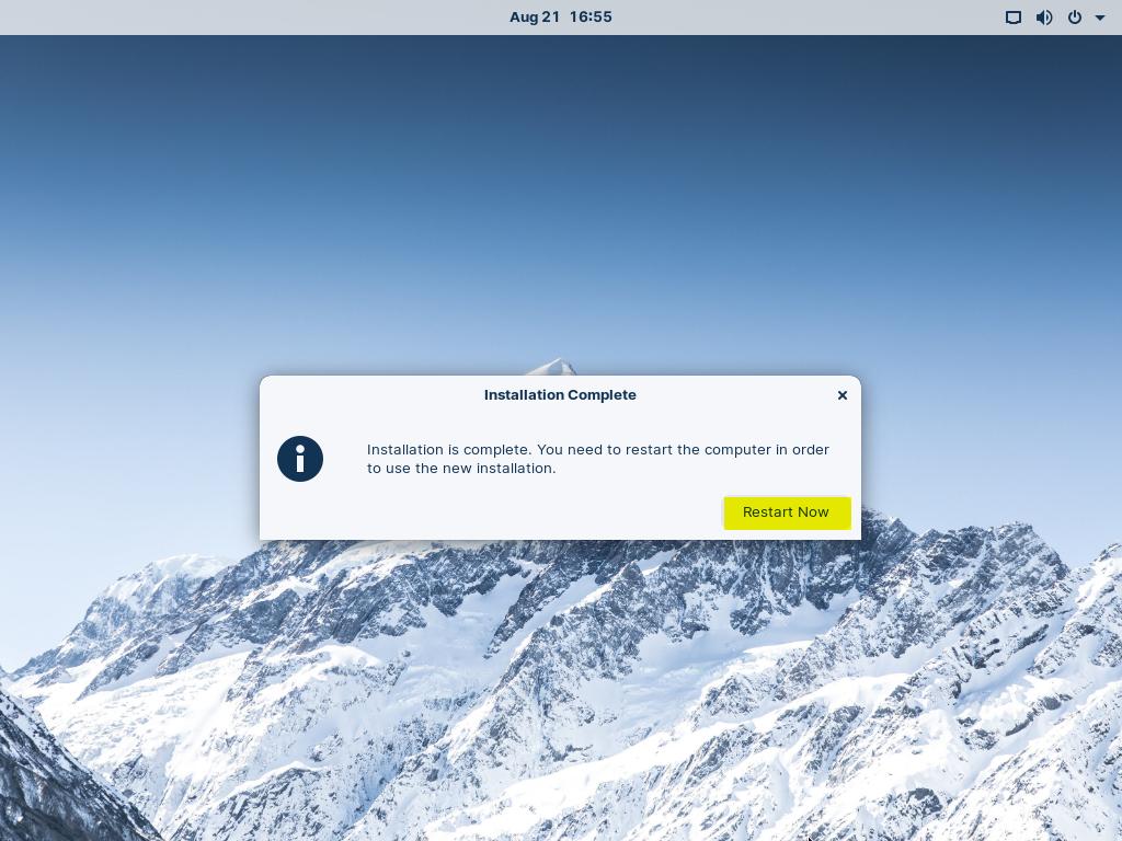 Restart-Zorin-OS16-After-Installation